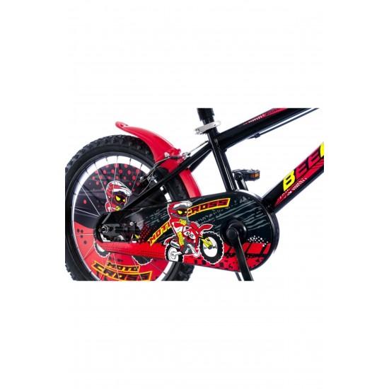 Tunca Beemer 16 Çocuk Bisikleti Kırmızı 2021 Model