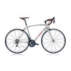 Carraro Freccia Yarış Bisikleti Gümüş - Beyaz 54cm