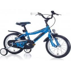 Bıanchı Sport 16 Jant Çoçuk Bisikleti Lacivert - Sarı - Mavi