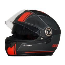 Free-M 913 Siyah Kapalı Vizörlü Motosiklet Kaskı