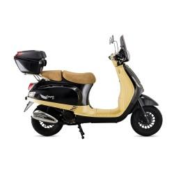 Motosiklet Falcon Cooper 50 Motosiklet Kahverengi