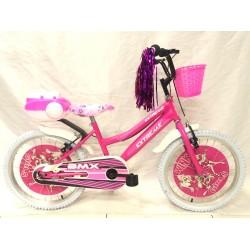 Amigo 20 Jant Bmx Kız Çoçuk Bisikleti 6-10 Yaş Lüx Yan Tekerler Hediye