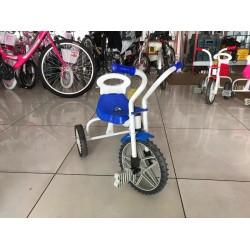 Üç Teker Demir Çocuk Bisikleti Mavi