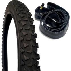 Bisiklet İç Ve Dış Lastik Seti 24 X 1.90 Irc