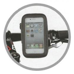 """Motosiklet Telefon Tutucu Kapalı Model Gidon Bağlantılı 6\"""" İnç"""