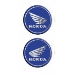 Damla Sticker Honda Mavi