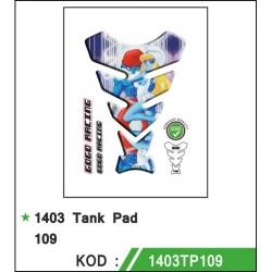 Motosiklet Tankpad 1403-109 Gogo Desing 1. Kalite Alman Malı