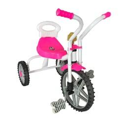 Üç Teker Demir Çocuk Bisikleti Pembe