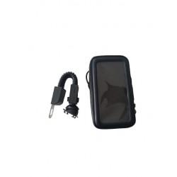 Motosiklet Telefon Tutacağı (Usb Girişli)