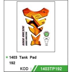 Motosiklet Tankpad 1403-192 Gogo Desing 1. Kalite Alman Malı