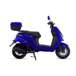 Motosiklet Falcon Techno 50cc Scooter Mavi