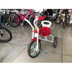 Üç Teker Demir Çocuk Bisikleti Kırmızı