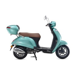 Motosiklet Falcon New Soft 50 Scooter Pembe