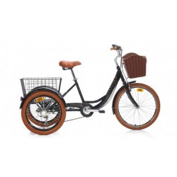 Bianchi Cargo 24 Jant 6 Vites Şehir Bisikleti Siyah - Gri 41 Cm