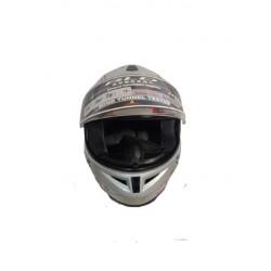 Bld 918 Boyunluklu Gri Motosiklet Kask ( L Beden )