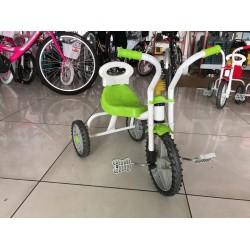 Üç Teker Demir Çocuk Bisikleti yeşil