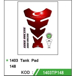 Motosiklet Tankpad 1403-148 Gogo Desing 1. Kalite Türk Bayrağı